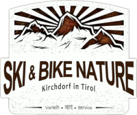 Ski & Bike Nature Kirchdorf in Tirol – Ski & Bike Verleih Logo